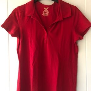 ❤️3/$15 | Faded Glory Red Polo Shirt